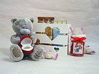 """Подарочный набор """"Мишка с кольцом"""" Арт.130"""