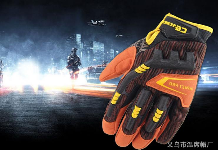Перчатки тактические Mechanix Impact Pro