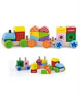 """Конструктор Viga Toys """"Поезд"""" (50534)"""