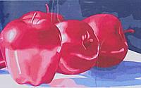 Рисование по номерам. Яблоки, серия Букеты, натюрморты, 30 х 50 см, Идейка