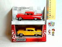"Машина Kinsmart ""CHEVROLET BEL AIR 1957"" KT5313W металл., фото 1"