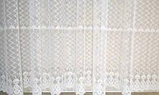 "Готовая тюль-вышивка ""Вера"" (Белый), 3 метра, фото 3"