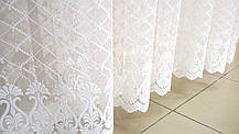 "Готовая тюль-вышивка ""Вера"" (Белый), 3 метра, фото 2"