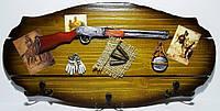 Ключница подарок охотнику, на 6 крючков