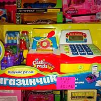 Детский кассовый аппарат с чеком и весами