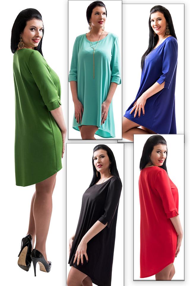 Женские трикотажные платья в розницу наложенным платежом