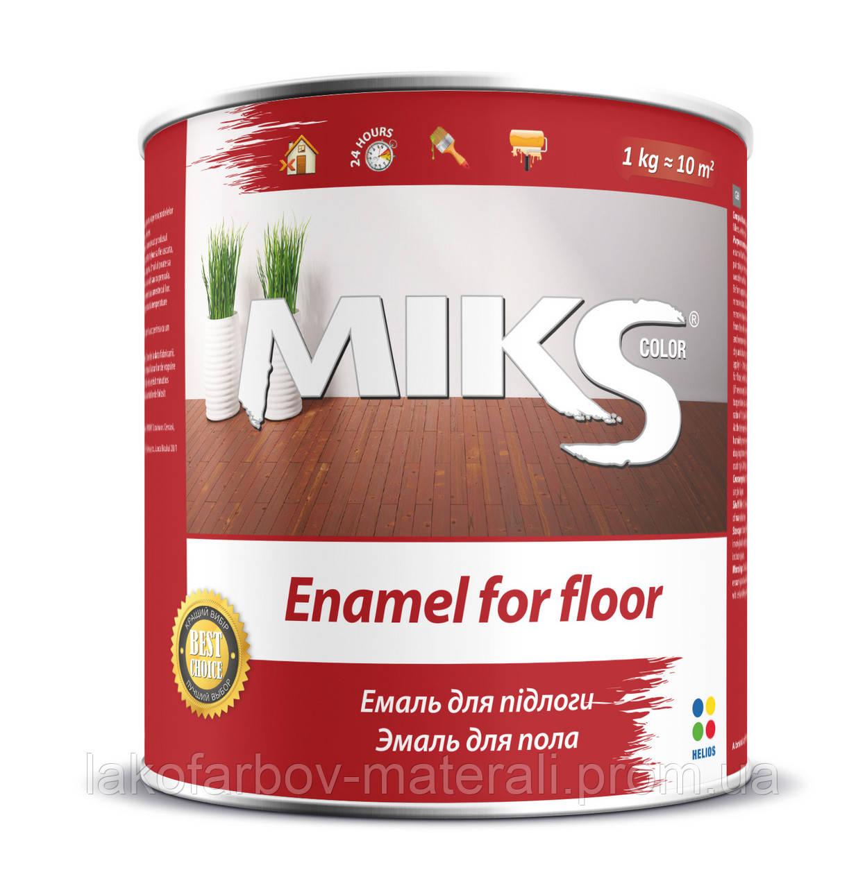 Емаль Мікс для підлоги