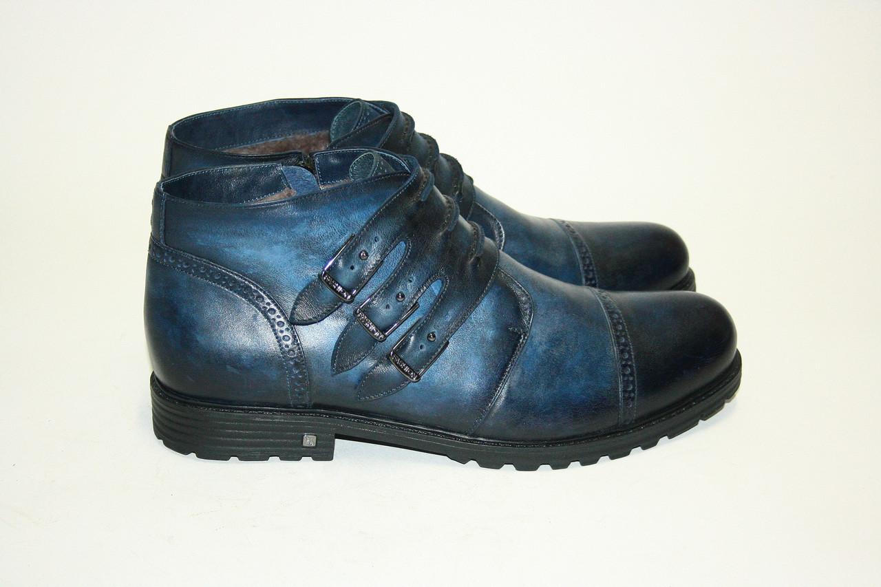Ботинки  Oscar Fur   25116 Синий