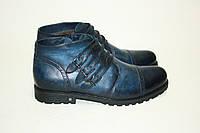 Ботинки  Oscar Fur   25116 Синий, фото 1