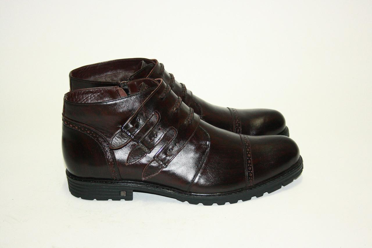 Ботинки  Oscar Fur  25216 Коричневый