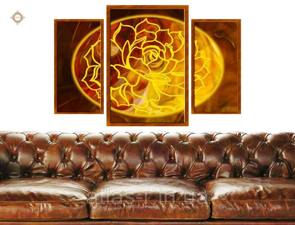 """Схема для вишивки бісером """"Квітка Богині Кохання"""""""