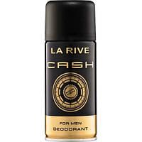 Мужской дезодорант 150 мл LA RIVE DEO CASH 235418