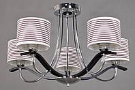 Потолочный светильник Colors MD 37804/5 хром/венге/ткань