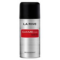 Мужской дезодорант 150 мл LA RIVE DEO GAME FOR MAN 060192