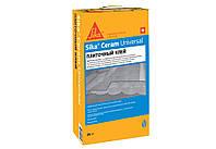 Клей для укладки керамической плитки и керамогранита 25 кг SikaCeram Universal