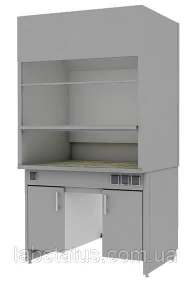 Шкаф вытяжной лабораторный ШВЛ-02.1 (с тумбами по бокам)