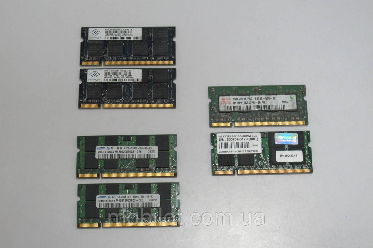 Оперативная память DDR2 1GB (NZ-1901)