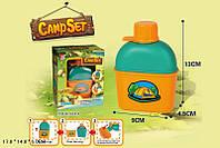 Игровой набор CAMP SET Юный турист, фляжка с кружкой, FDE816