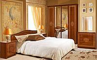 Спальня 5Д Флоренция каштан