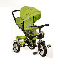 Велосипед детский трехколесный Turbo Trike M 3200-4A Green (M 3200)