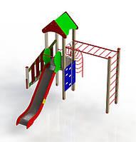 Однобашенный Спортивно-Игровой Комплекс LUXON SPORT KIDS HAPPY 01, фото 1
