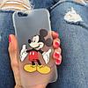 Пластиковый чехол с Микки и Минни на Iphone 6/6s