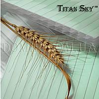 Поликарбонат сотовый Polygal Titan Sky (Титан Скай)