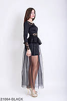 Женское платье Melania, черное