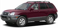 Защита двигателя на Hyundai Santa Fe (2001-2006)