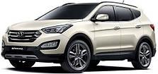 Защита двигателя на Hyundai Santa Fe (2013-2018)
