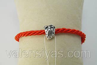 Бусина на браслет шарм Клубника, фото 3