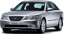 Защита двигателя на Hyundai Sonata NF (2004-2010)