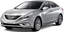 Защита двигателя на Hyundai Sonata YF (2010-2014)