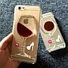 Чехол вино для iPhone 5 5s SE пластиковый