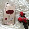 Чехол вино для iPhone 5 5s SE пластиковый , фото 2
