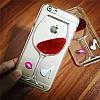 Чехол вино для iPhone 5 5s SE пластиковый , фото 3