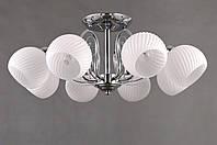 Потолочный светильник Colors MD 36066/8 хром/белый