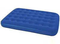 BW Велюр матрац 67002 (4шт) синий, 191-137-22см