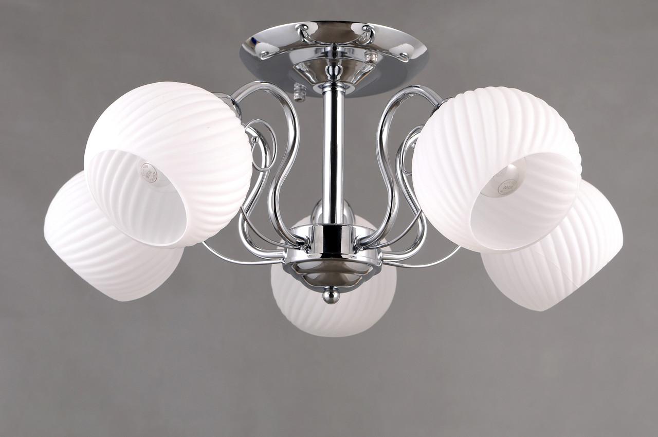 Стельовий світильник Colors MD 36066/5 хром/білий