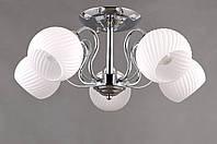Потолочный светильник Colors MD 36066/5 хром/белый