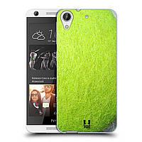 Силиконовый чехол для HTC Desire 626 узор Теннисный мяч