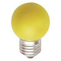 Светодиодная лампа Feron LB37 1W E27 желтая