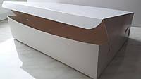 Коробка для капкейков 9 см, 6 шт., Без окна, 17см х 25см х 9см, Белый