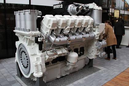 Новый 12-цилиндровый V-образный дизельный двигатель Liebherr D9812