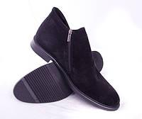 Мужские замшевые ботинки, деми, в наличии 40 размер