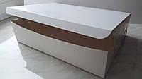 Коробка для капкейков 9 см, 12 шт., Без окна, 25см х 34см х 9 см, Белый