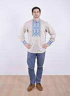 Мужская вышиванка, льняная рубашка, размеры: S,  L,  XL, ХXXL
