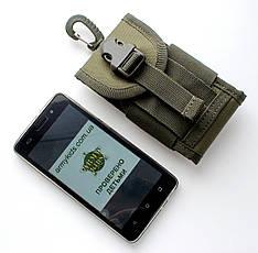 Тактический чехол для телефона Олива, фото 3