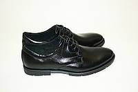 Классические черные мужские туфли
