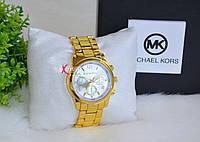 """Стильные часы в стиле """"Михаель Корс""""."""
